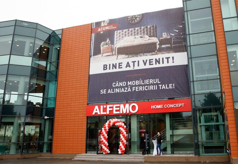 Am deschis primul showroom Alfemo din Romania