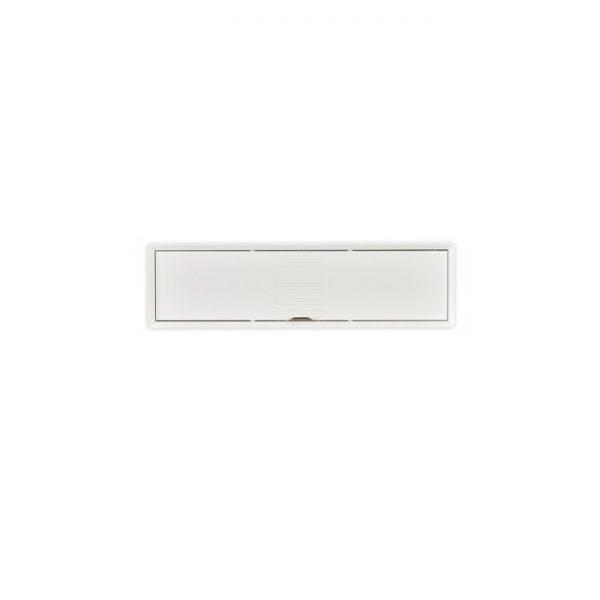 Cortp alb perete orizontal cu usa ALFEMO