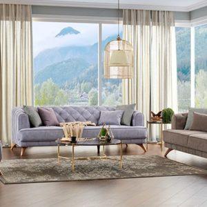Canapele moderne gri