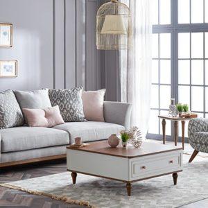 Canapea extensibila gri